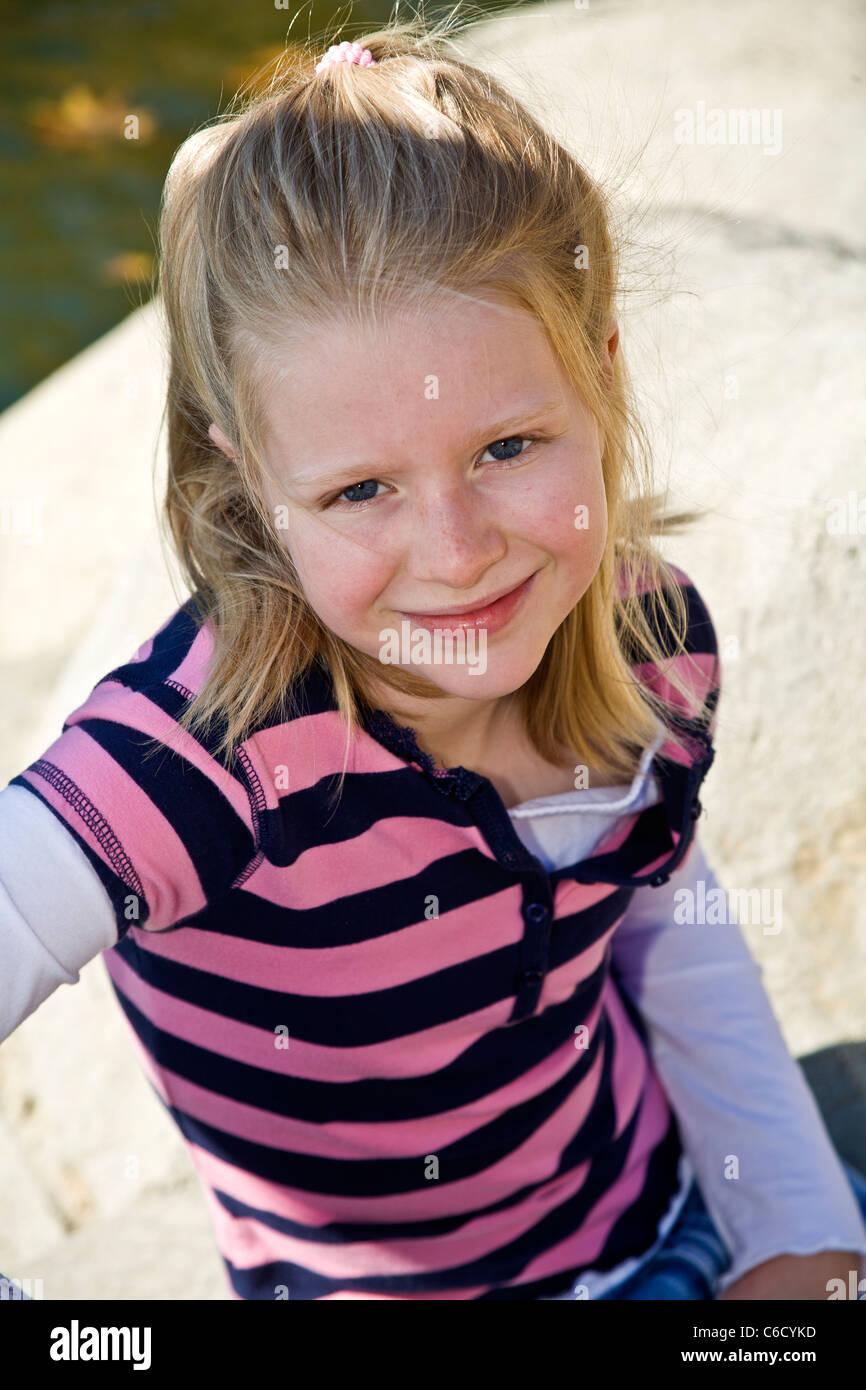 Blonde Girl 7 9 Year Old Girl In Park Mr Myrleen
