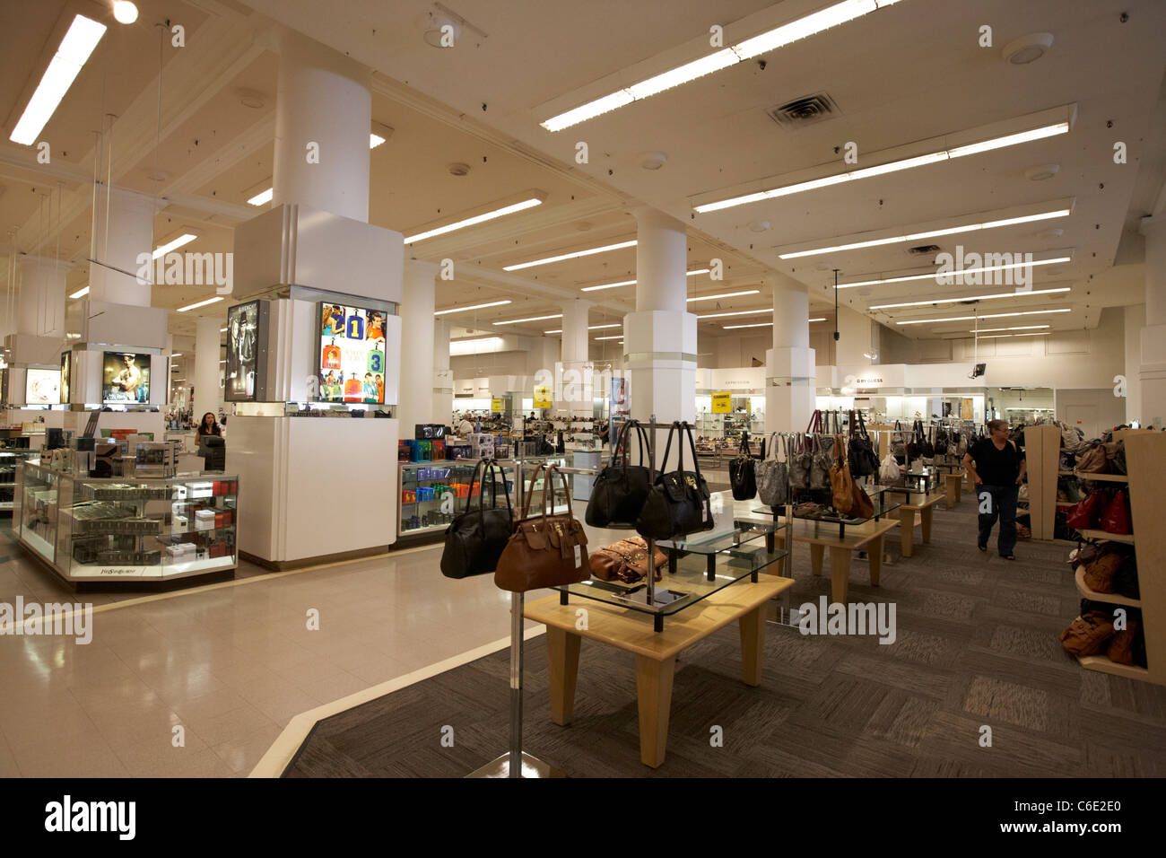 interior of the bay hudson bay company department store