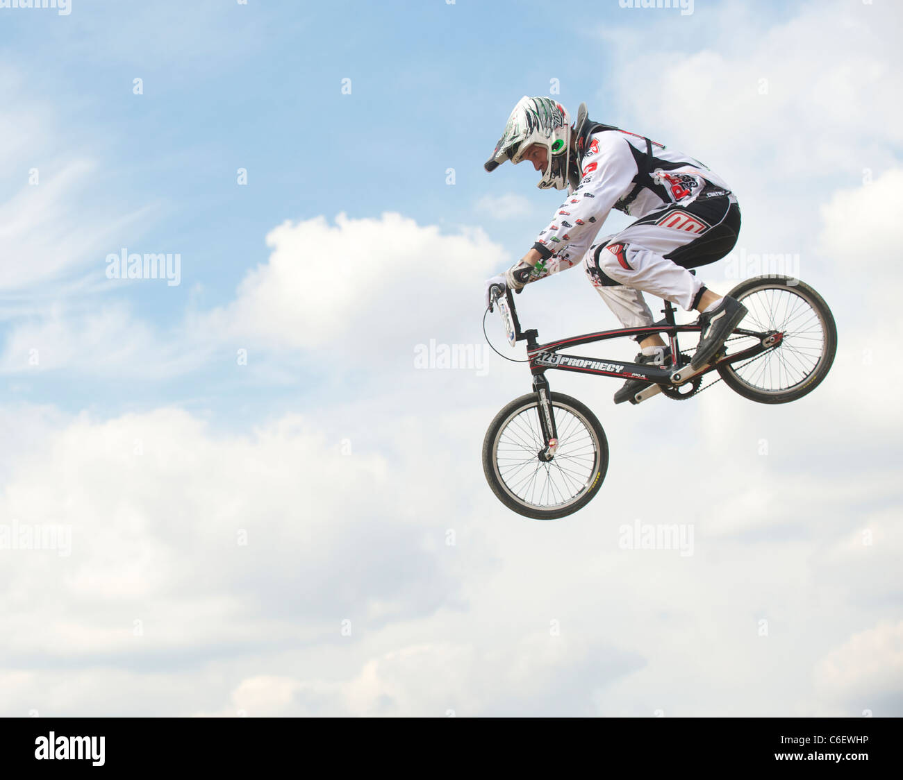 BMX Supercross World Cup Olympic Test Event Park Stratford London England