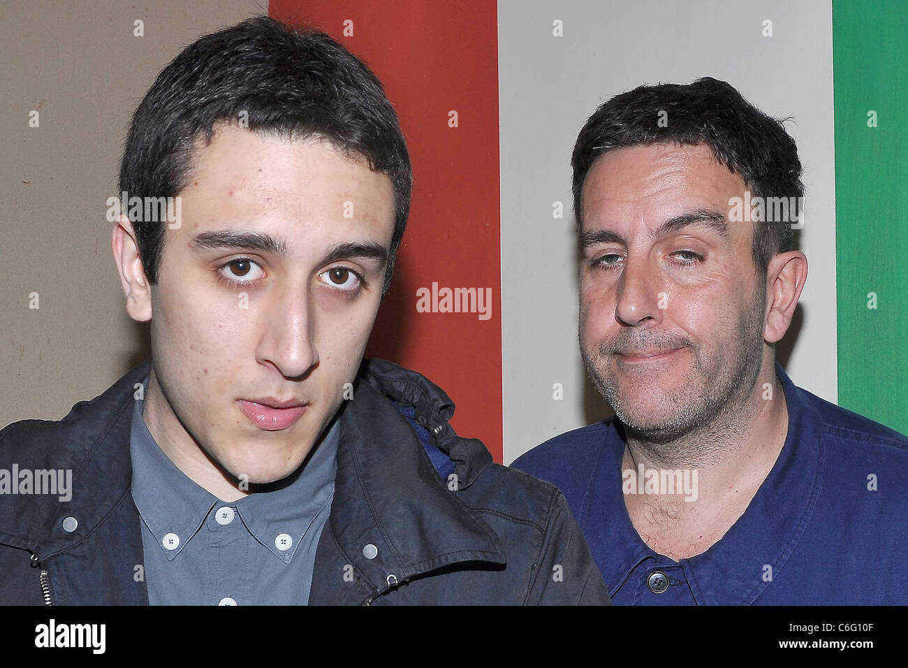 Low-Res abspeichern - the-specials-frontman-terry-hall-and-his-son-felix-temple-house-festival-C6G10F