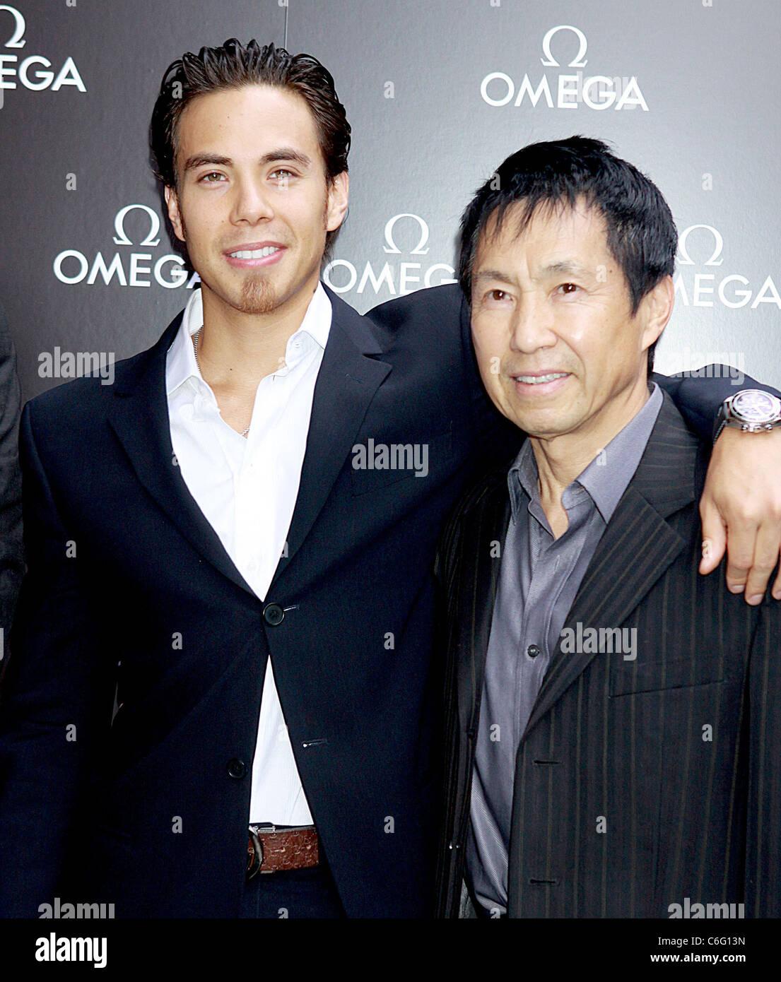 olympic gold medalist apolo ohno and father yuki ohno