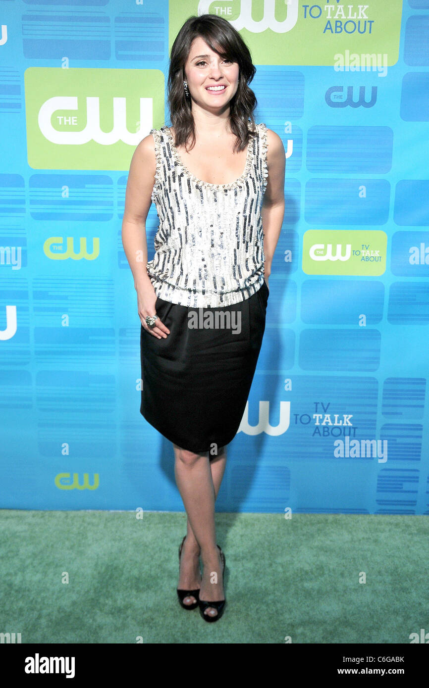 Shiri Appleby 2010 The CW Network UpFront at Madison Square Garden ...