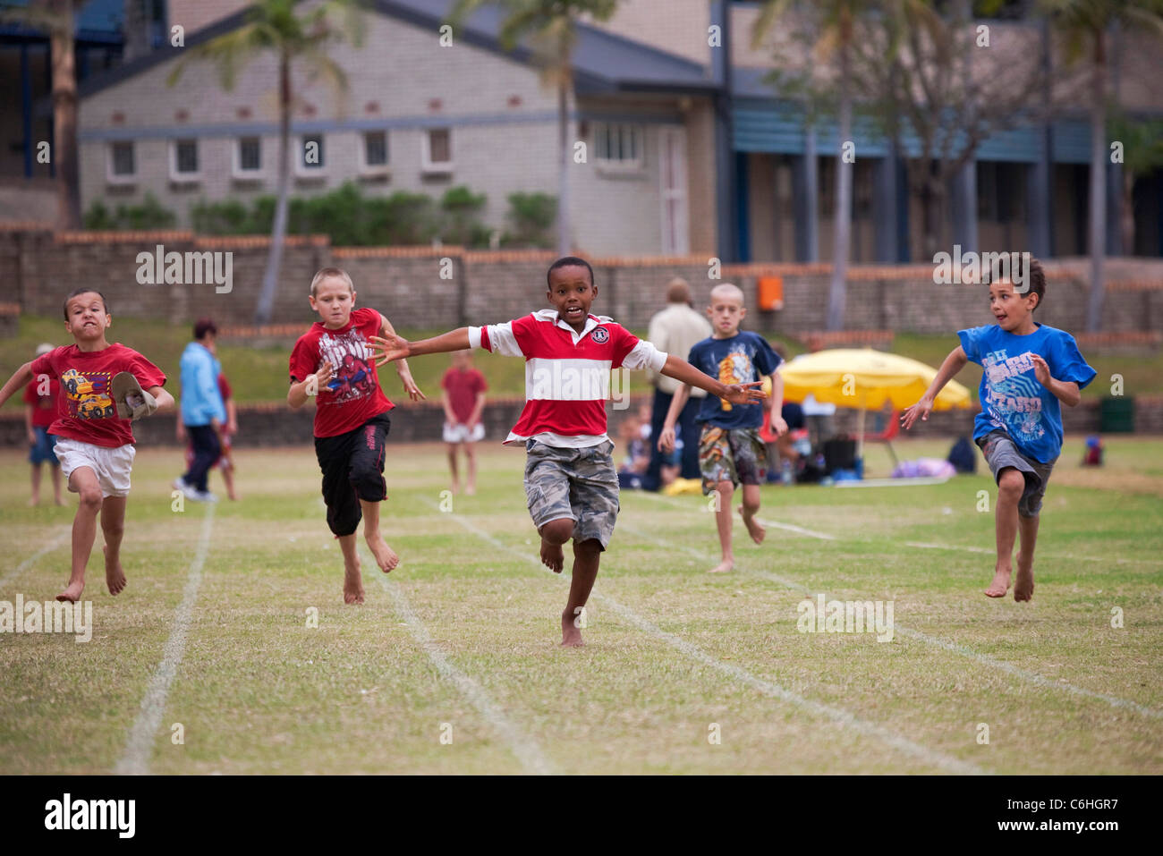 children running in school - photo #41