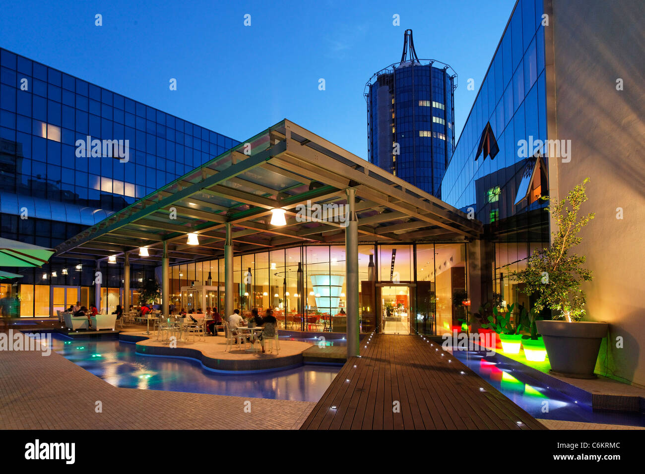T hotel cagliari italy sardinia stock photo 38544364 alamy for Design hotel sardinien