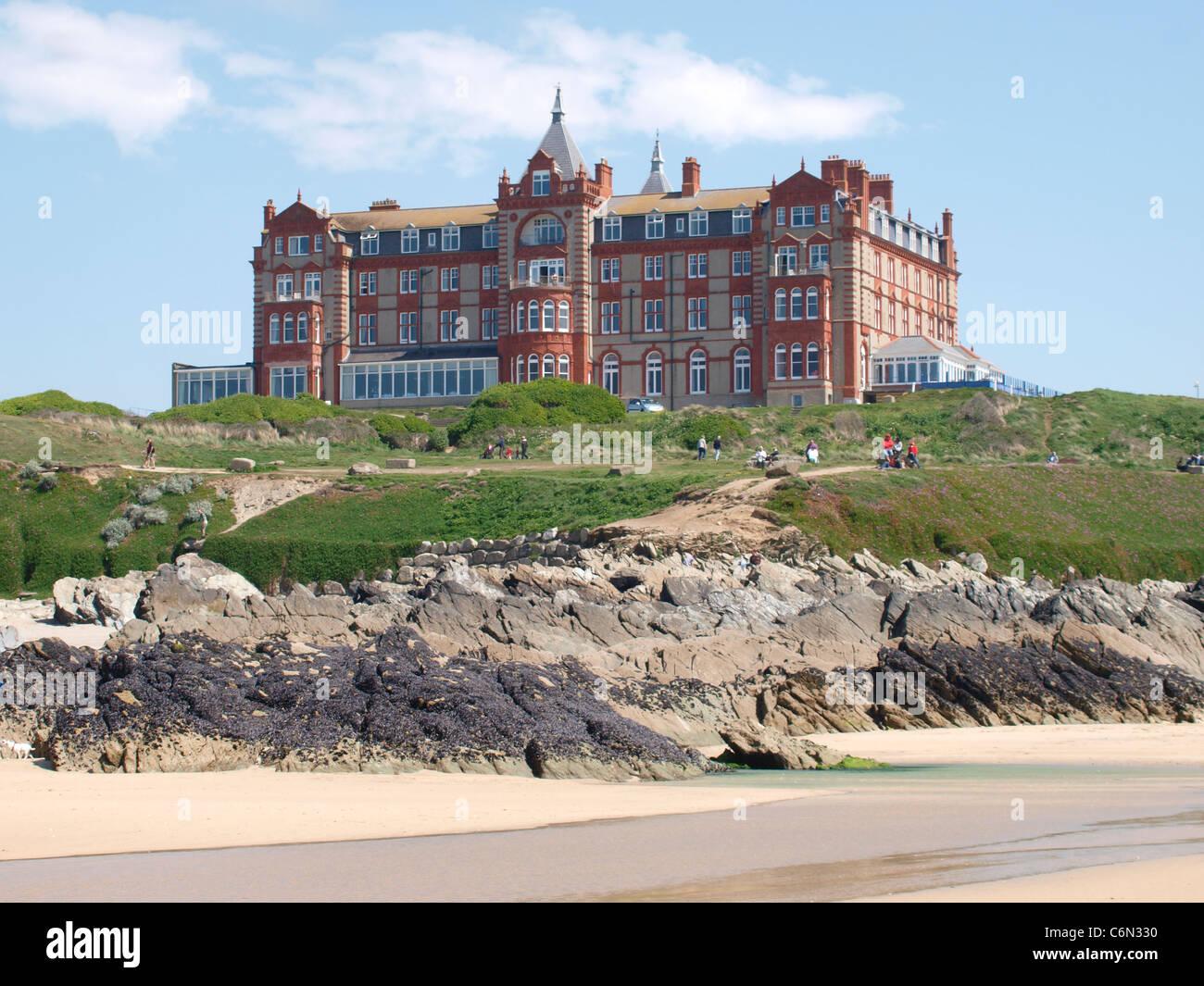 The Headland Hotel Fistral Beach Newquay Cornwall Uk