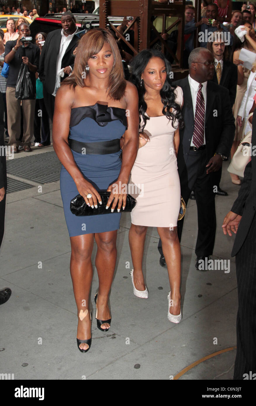 Serena Williams The Wedding Of LaLa Vasquez And Carmelo Anthony At Cipriani 42nd Street New York City USA