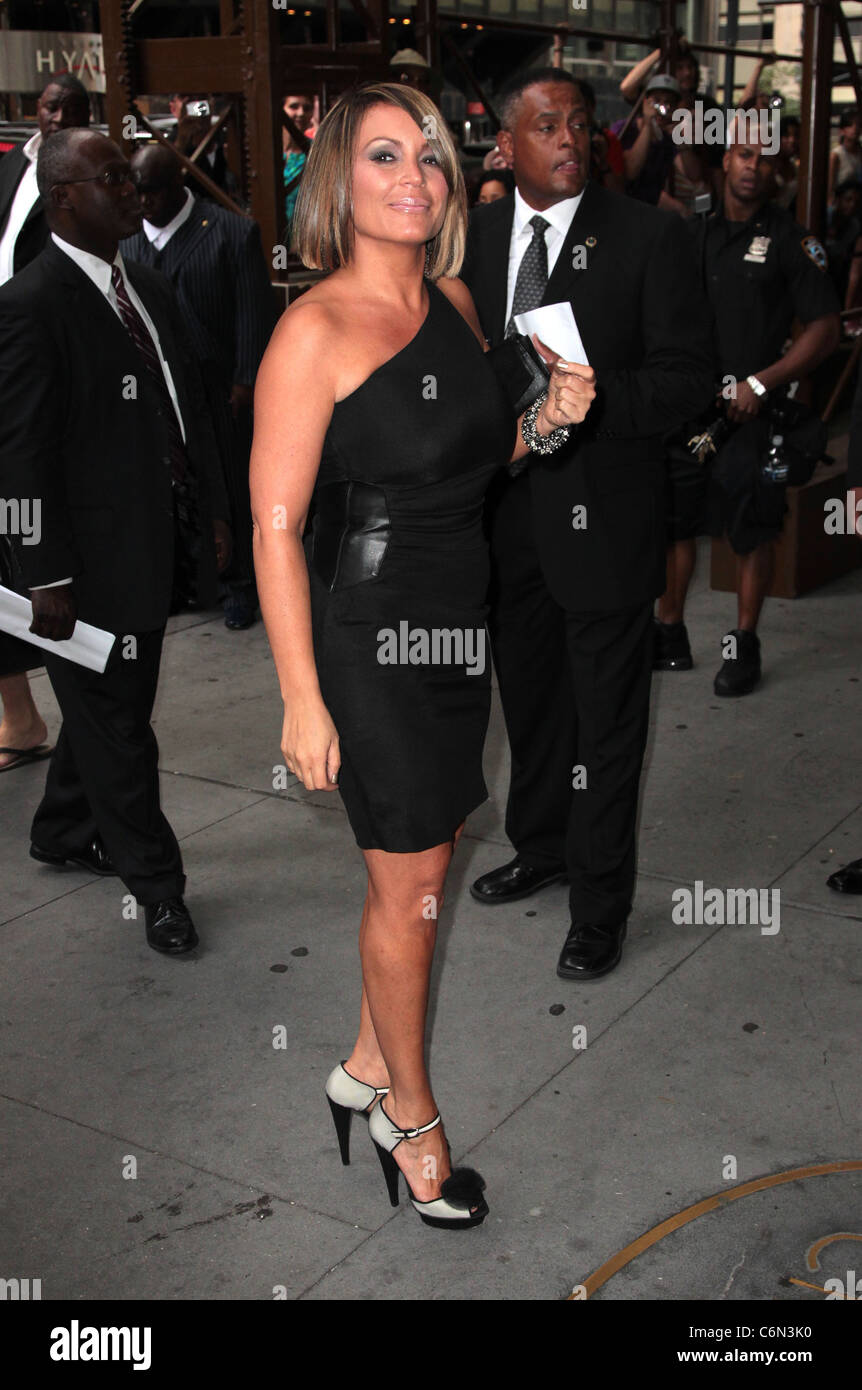 Angie Martinez The Wedding Of LaLa Vasquez And Carmelo Anthony At Cipriani 42nd Street New York City USA