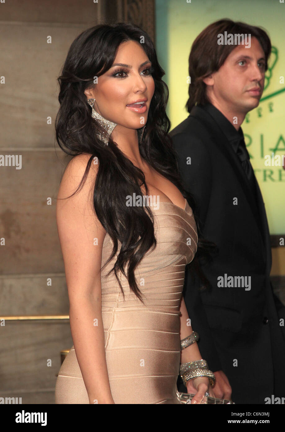 Kim Kardashian The Wedding Of LaLa Vasquez And Carmelo Anthony At Cipriani 42nd Street New York City USA