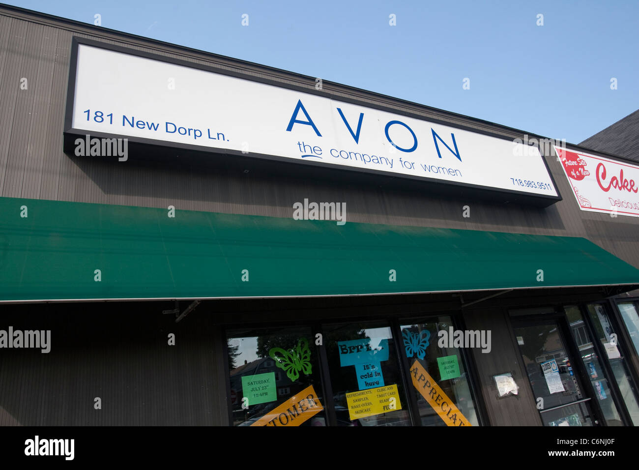 Stock Photo - An Avon store is pictured in New York City, NY Sunday July 31, 2011