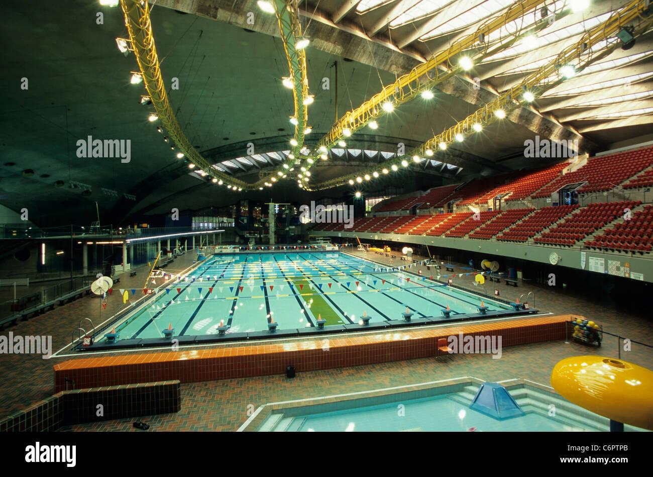 Olympic Swimming Pool Olympic Stadium Montreal Canada Stock Photo Royalty Free Image