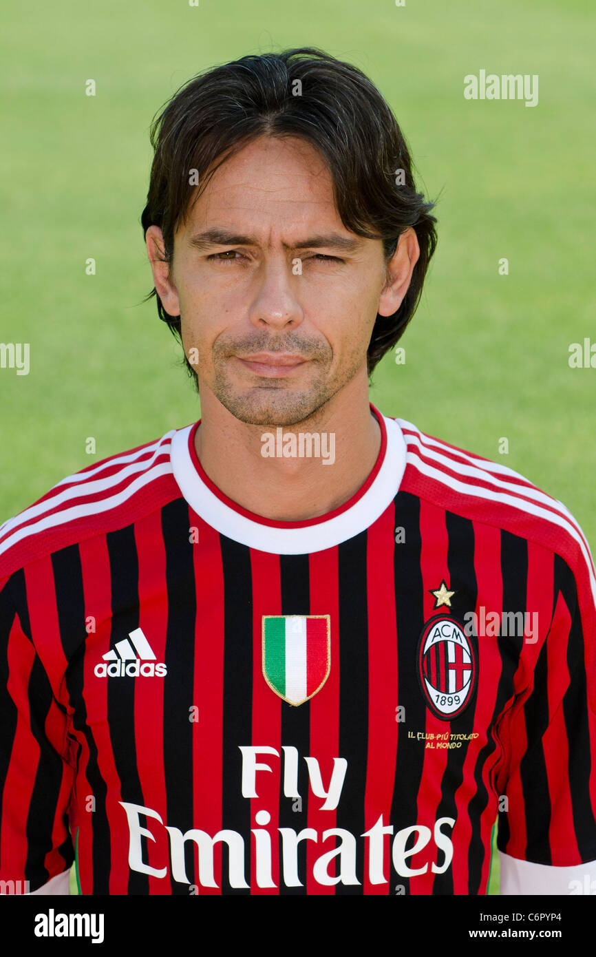 Filippo Inzaghi Milan AUGUST 25 2011 Football Soccer AC