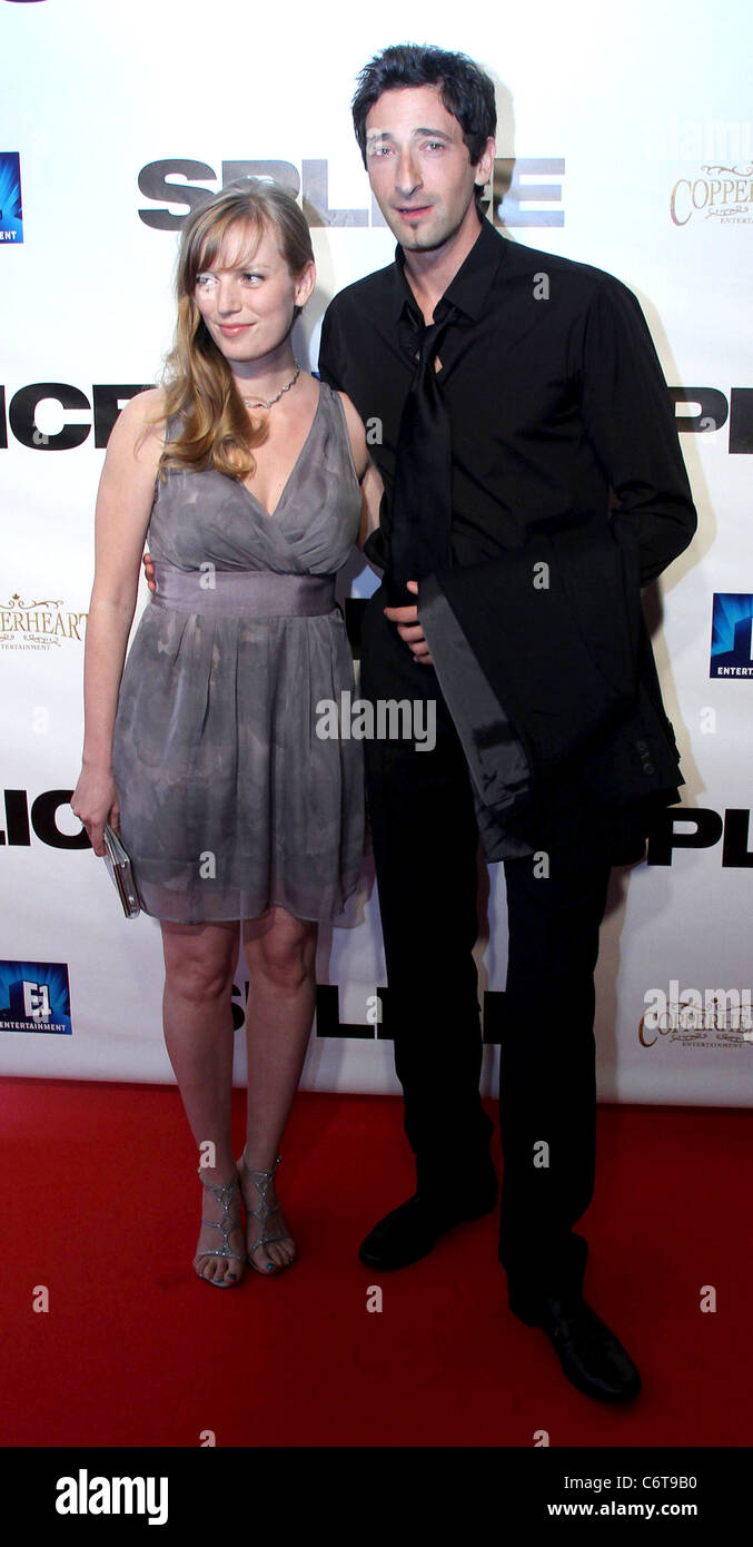 sarah polley and adrien brody premiere of u0027splice u0027 red carpet