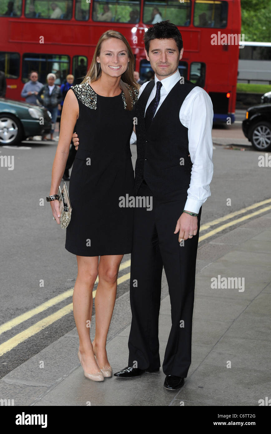 Tom Chambers with wife English National Ballet summer party held