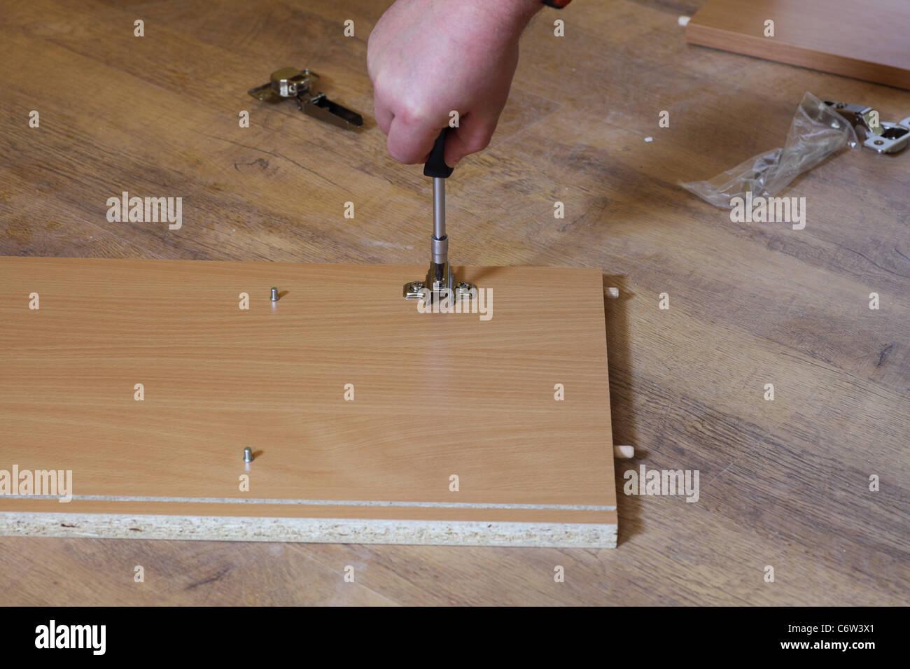 Rearrange Self Assembly Furniture Wooden   Nobody