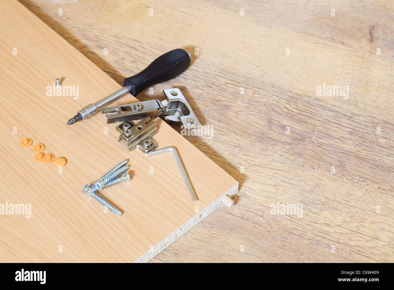 Rearrange Furniture Wooden Nobody Stock Photo With Self Assembly Furniture.