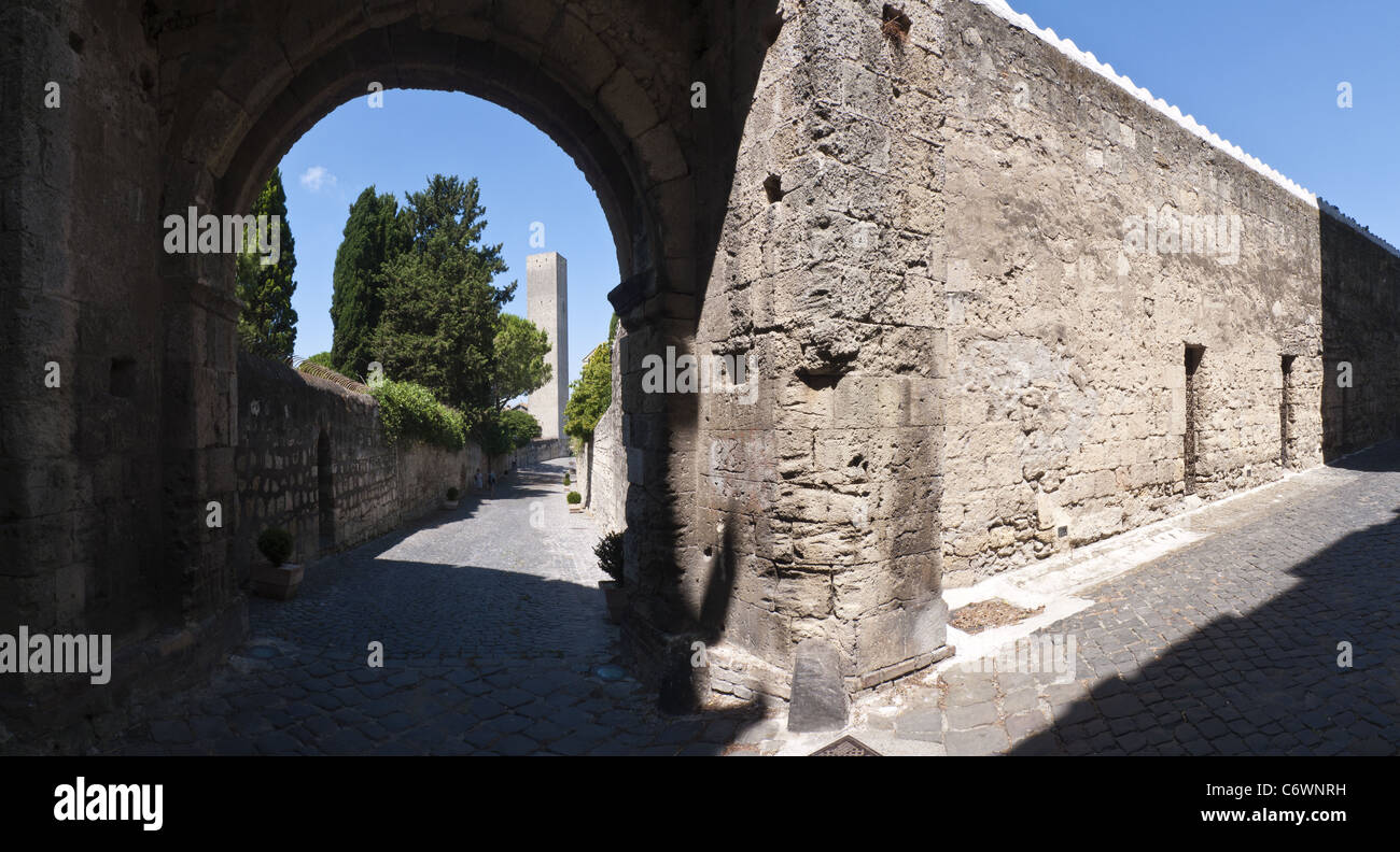 Via di porta castello tarquinia italy stock photo - Via di porta ardeatina ...