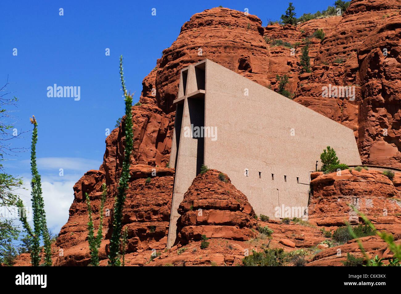 Chapel Holy Cross Sedona Az Stock Photo Royalty Free