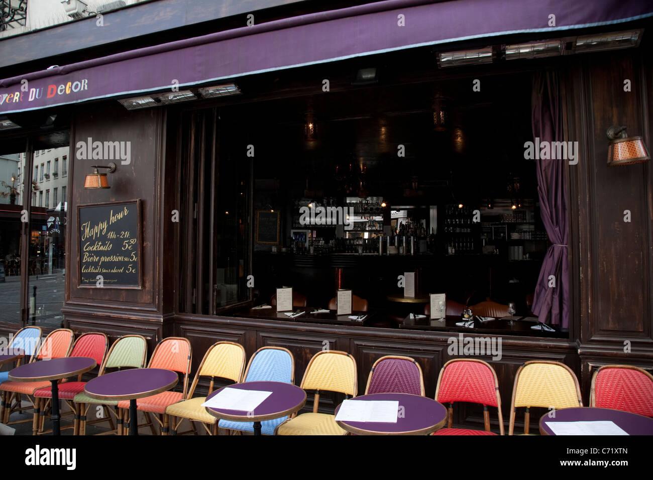 L 39 an vert du decor restaurant and bar bastille paris for Restaurant bastille terrasse