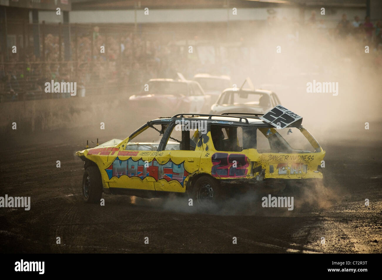 banger racing racer driver race crash stock car cars drivers racers ...