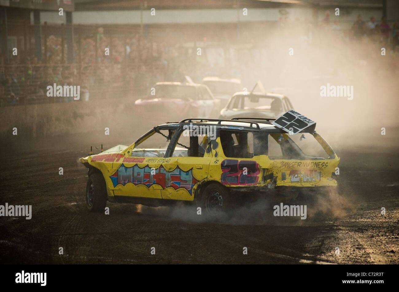 banger racing racer driver race crash stock car cars drivers racers ...