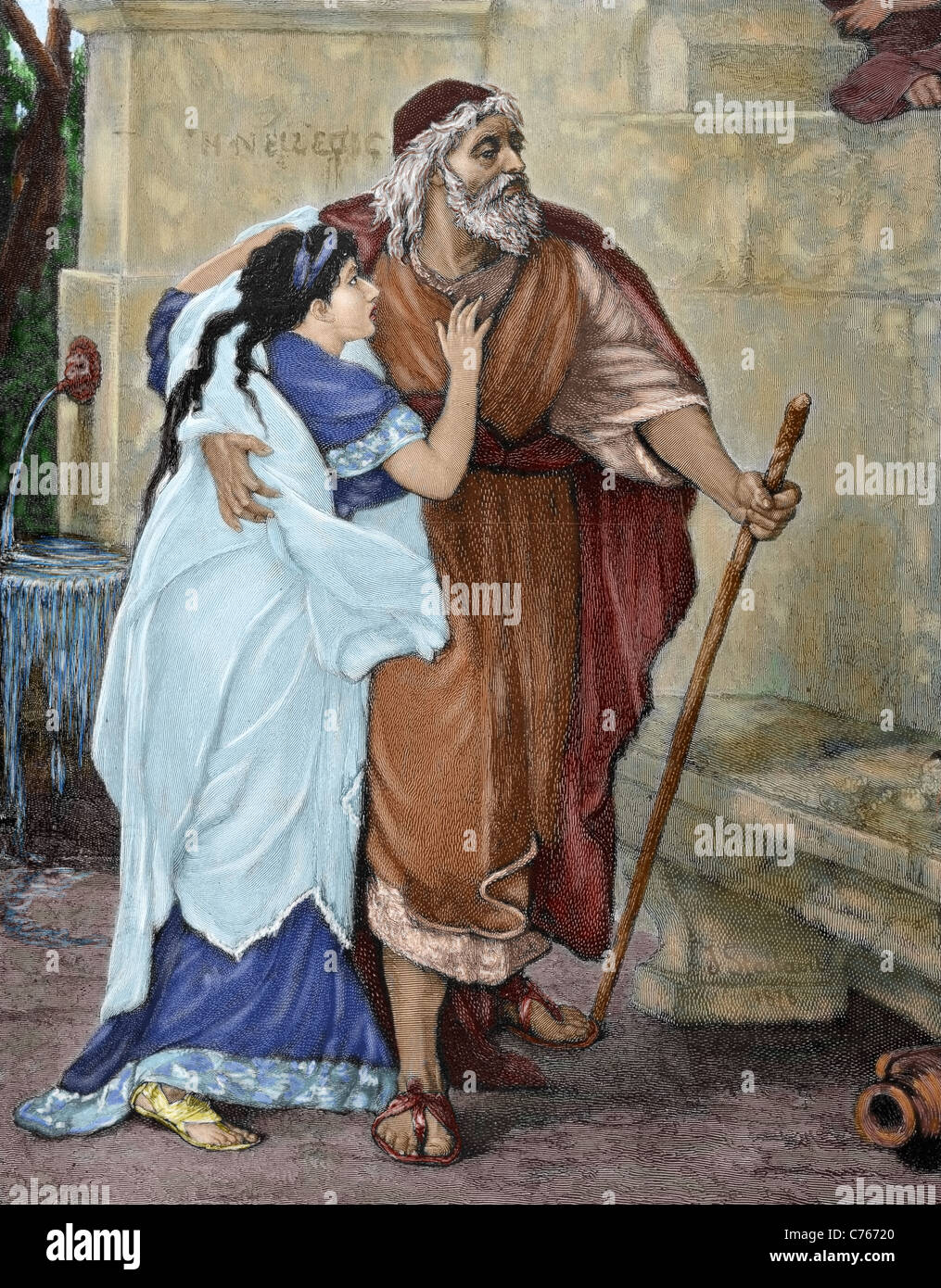 the exile of oedipus Sophocles: oedipus the king oedipus at colonus antigone  at the entrance  of the palace (anagnorisis ~ epiphany of horror) -- to go to exile (catharsis.