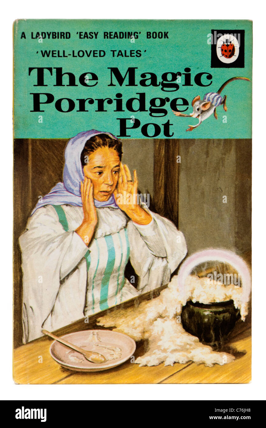 Ladybird Book Cover Pictures : Vintage s ladybird book quot the magic porridge pot