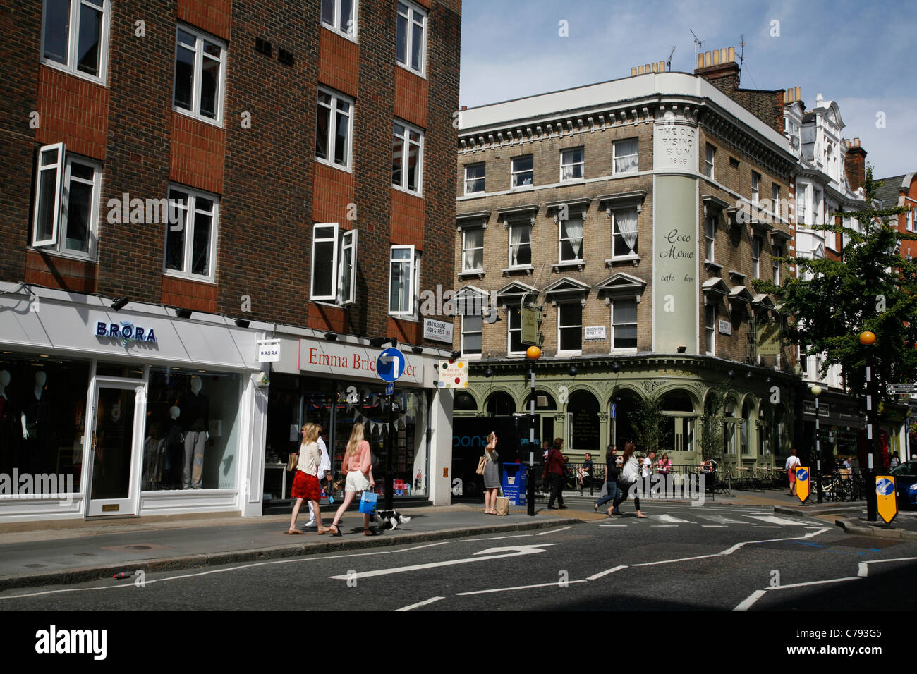 paddington street london stock photos u0026 paddington street london