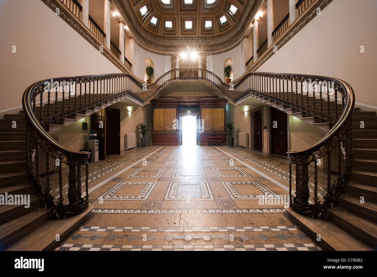 Leigh Court, Grade II Listed, Mansion House, Palladian Staircase