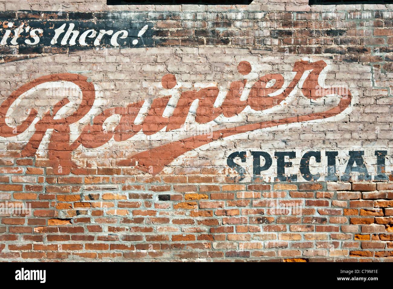 Coca-Cola advertisement on brick wall | Bricks, Walls and Coca Cola