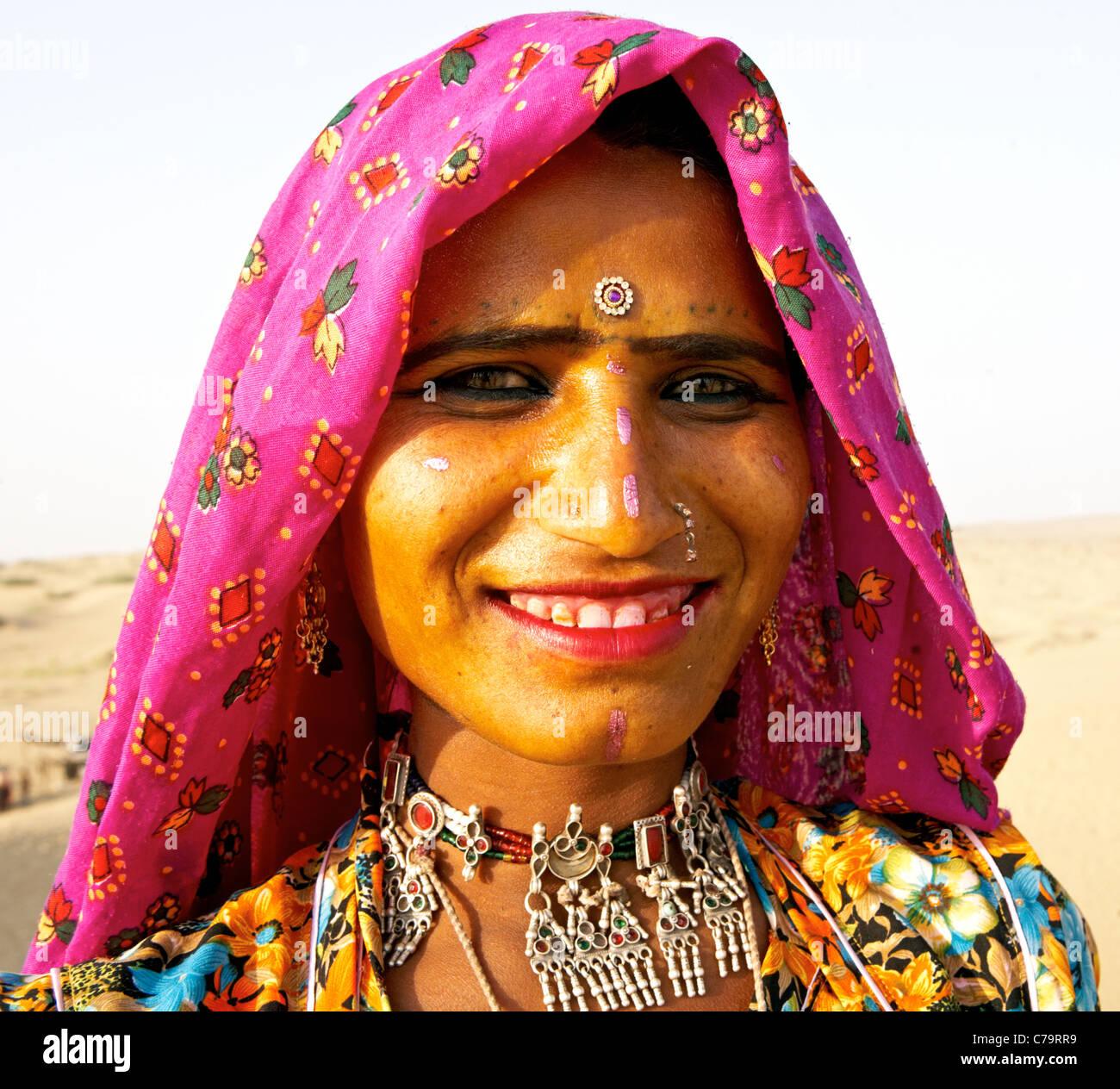 Indian Gypsy Pushkar Rajasthan India Stock Photo, Royalty Free ...