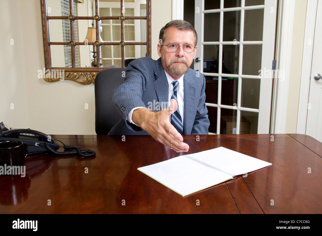 Loan Officer Stock Photo, Royalty Free Image: 38996400 - Alamy
