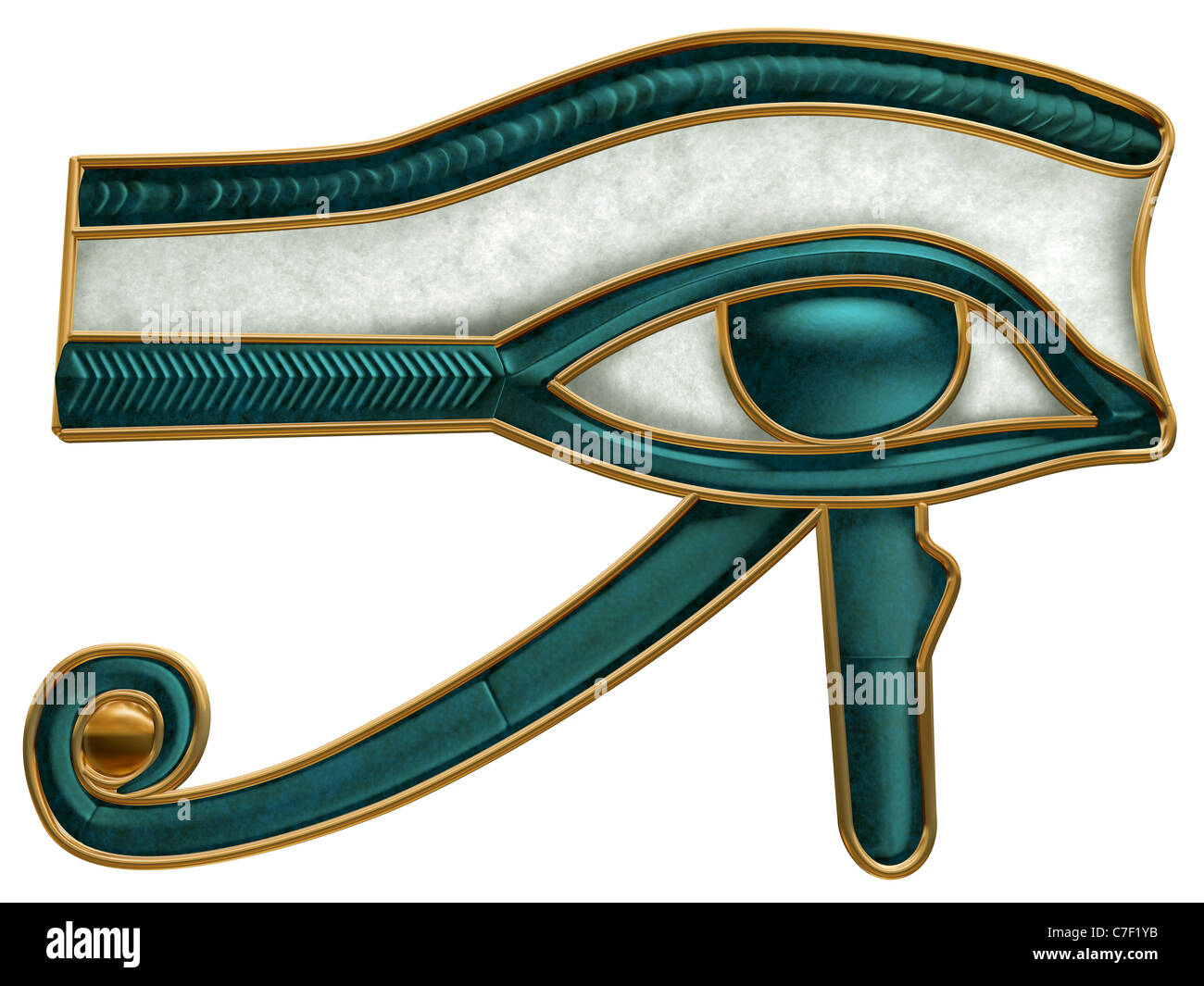 Illustration of the ancient egyptian eye of horus symbol stock illustration of the ancient egyptian eye of horus symbol biocorpaavc Images
