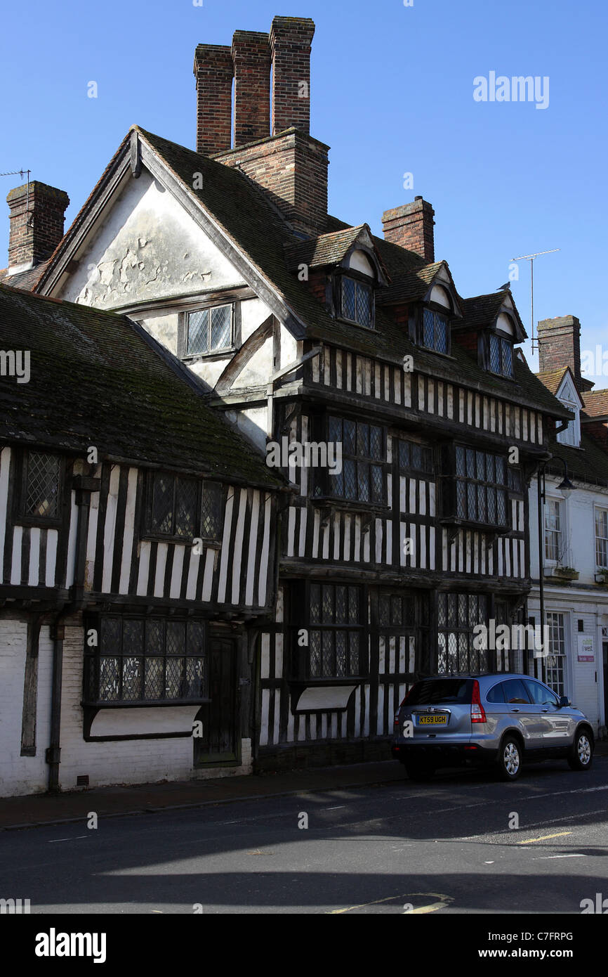 Tudor Architecture english tudor architecture stock photos & english tudor