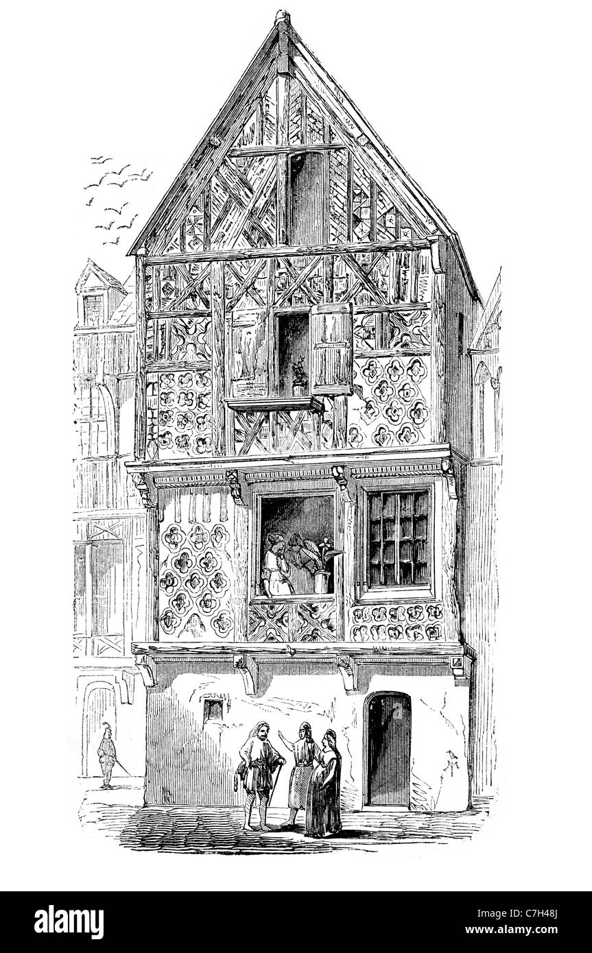 Line House Located In London: Old House London Elizabethan Architecture Renaissance