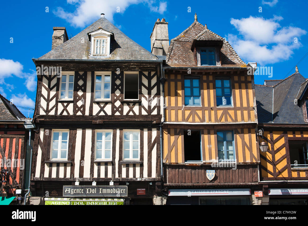 Architecture at dol de bretagne brittany france stock for Architecture fr