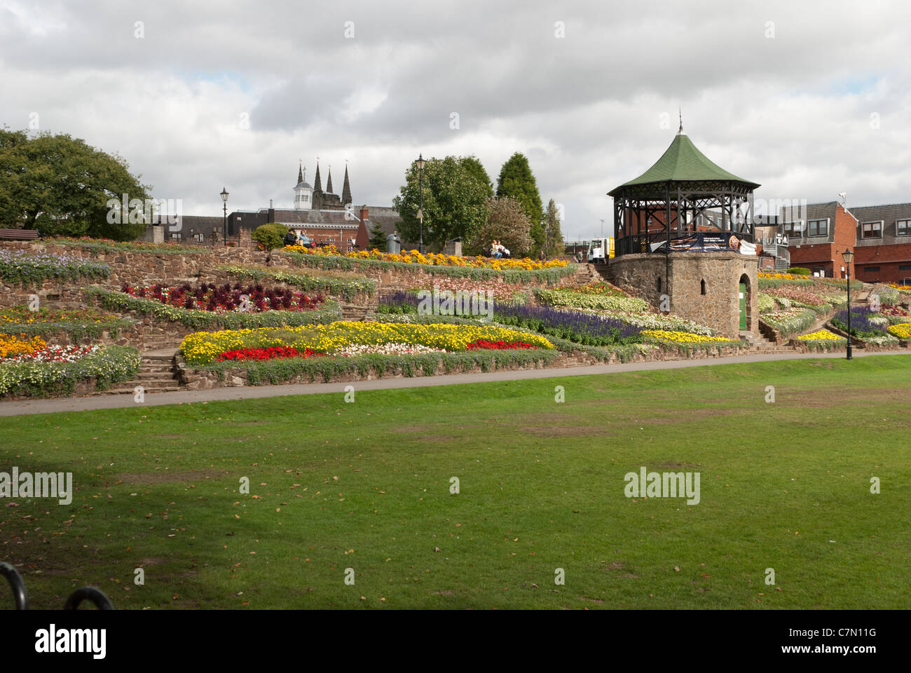 tamworth castle pleasure grounds