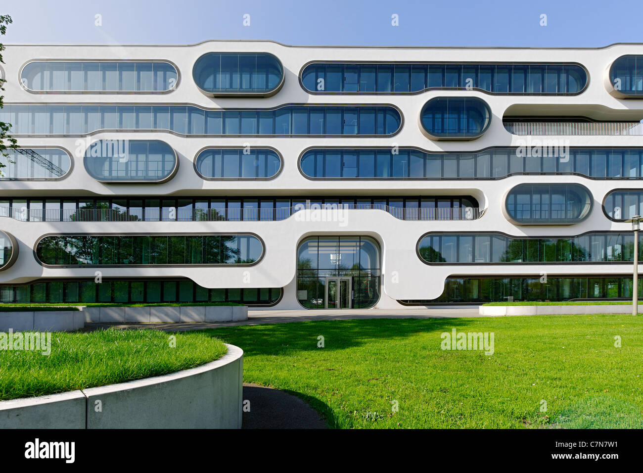 Front Facade Office Building Modern Architecture