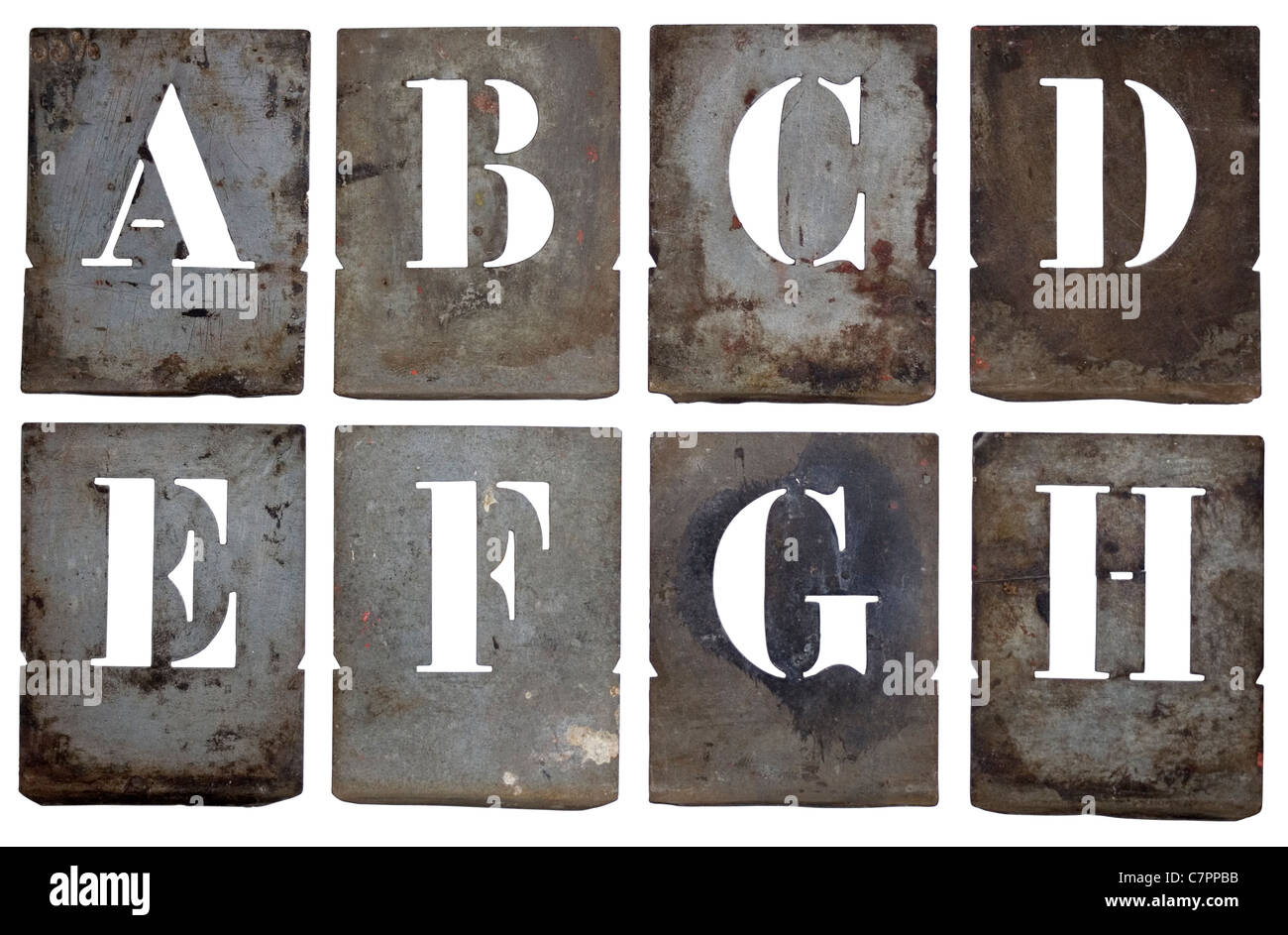 Old Metal Letters Adorable Old French Metal Stencil Letters Part Of An Entire Alphabet Design Inspiration
