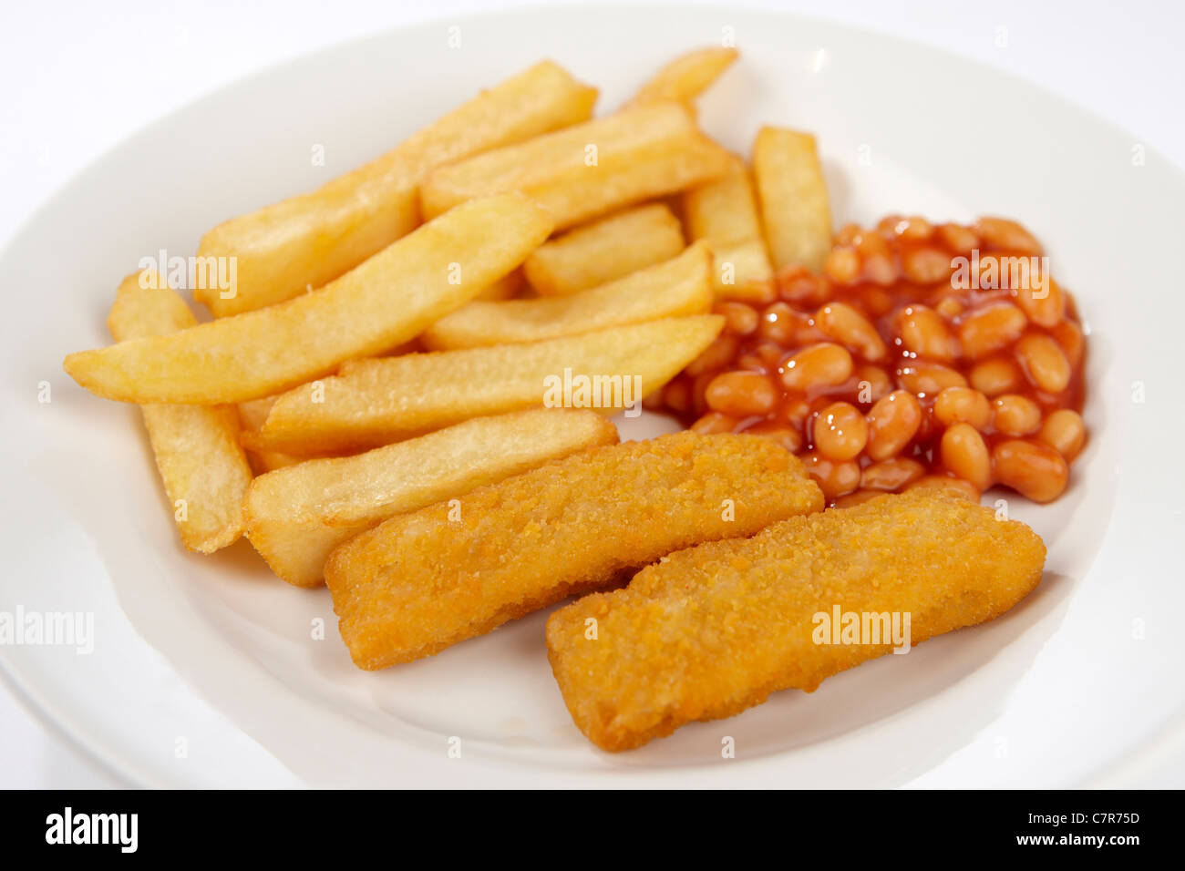 fish fingers chips and beans stock photo  royalty free national french fry day clipart Clip Art French Fries