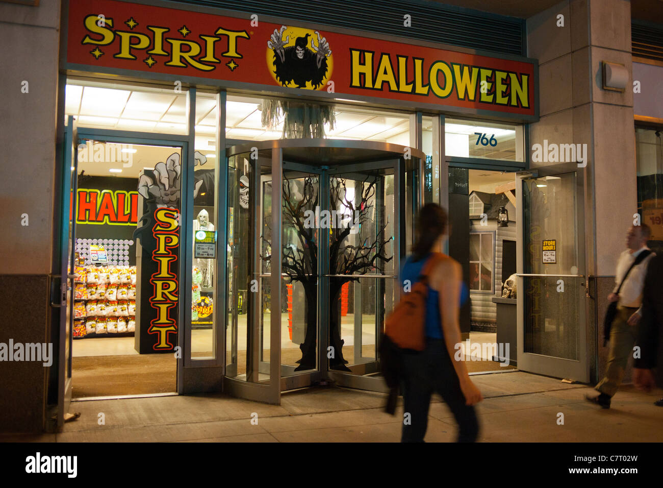 The Spirit Halloween pop-up store is seen in the Chelsea ...