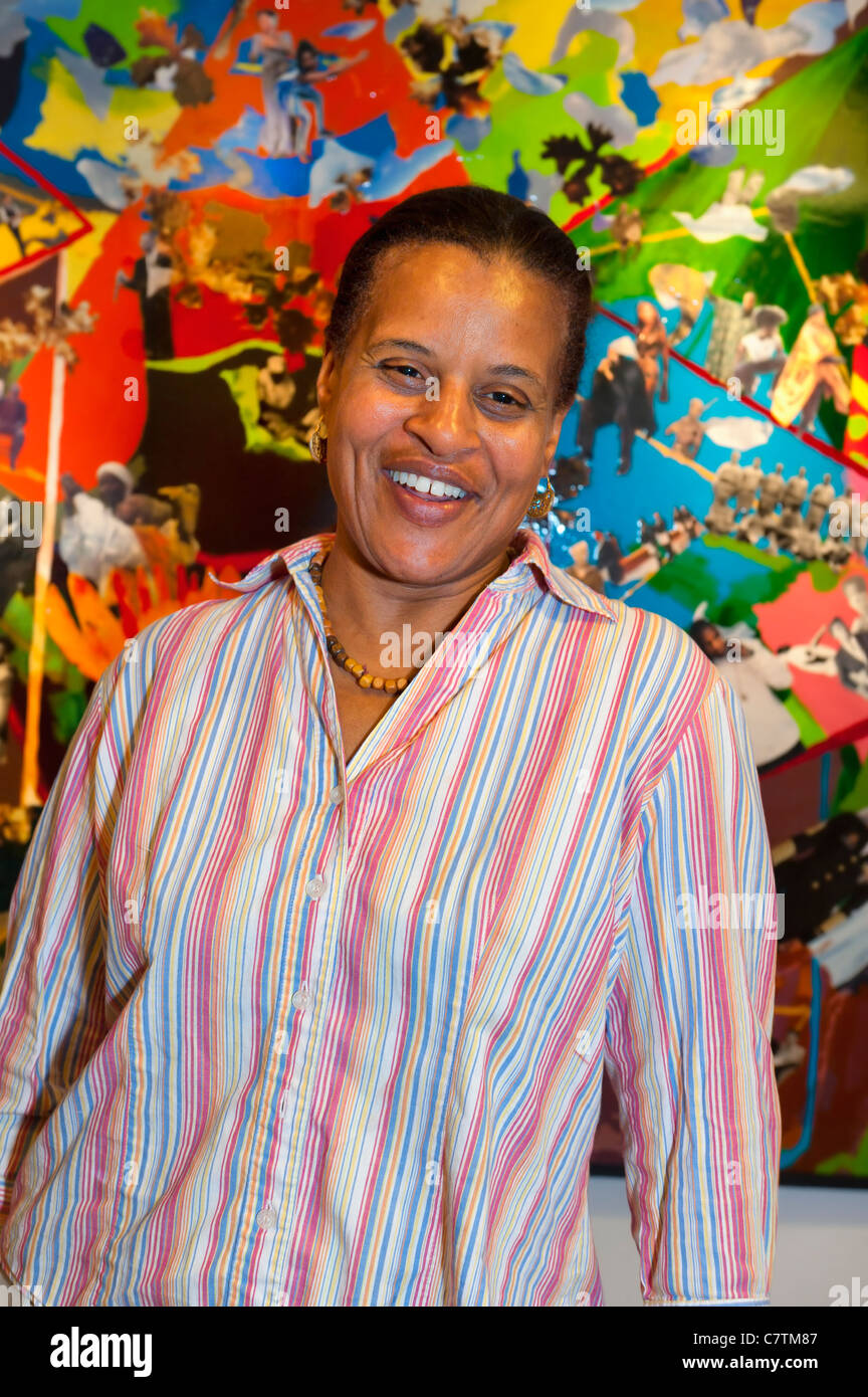 Mature Black Woman Portrait Taken At African American Museum - Black museums in usa