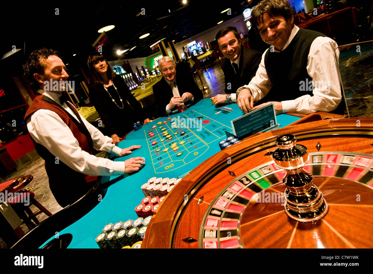 Roulette Table Casino