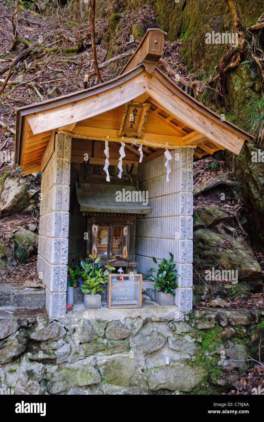Hokora Or Small Wayside Japanese Shinto Shrine In The