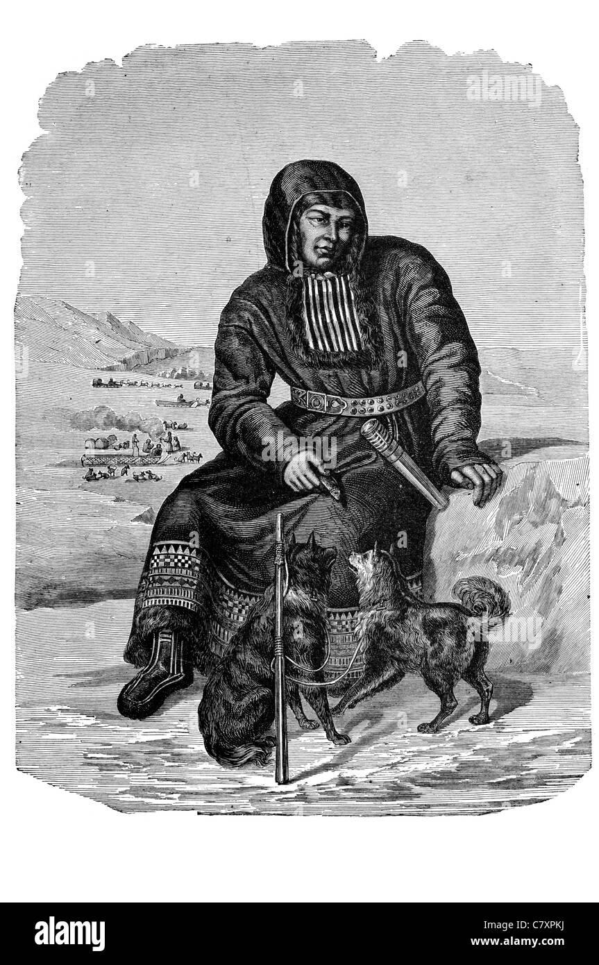 incest 3D bad onion 2 Itelmen Kamchadal ethnic group native aboriginal inhabitants Kamchatka  peninsula Russia Chukotko Kamchatkan language - Stock Image