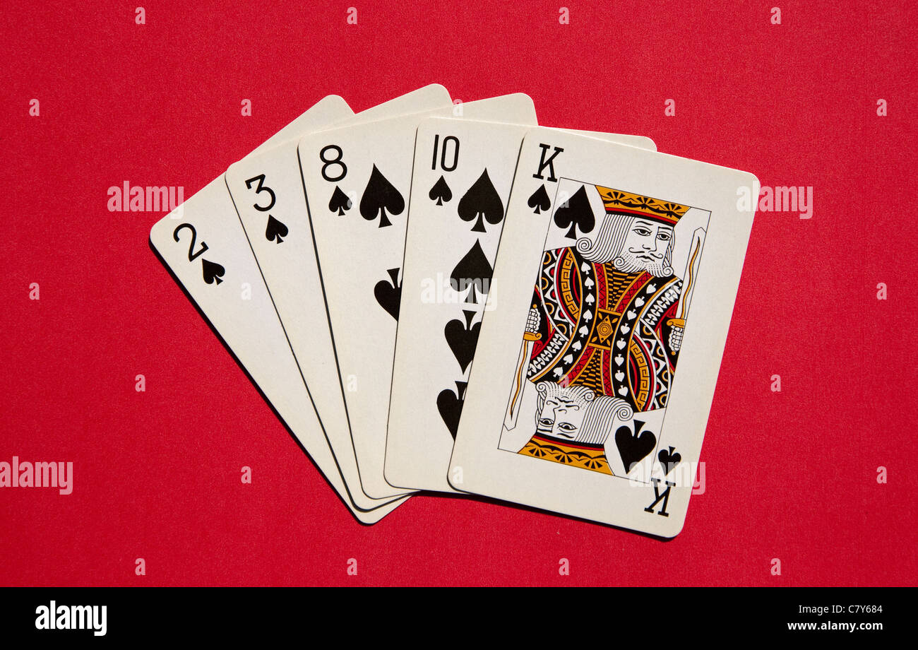 Texas Holdem 5 Same Suit