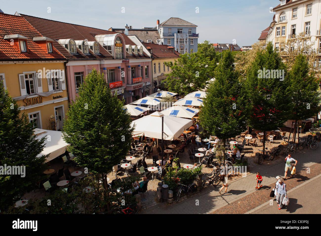 ludwigsplatz karlsruhe baden w rttemberg germany stock. Black Bedroom Furniture Sets. Home Design Ideas