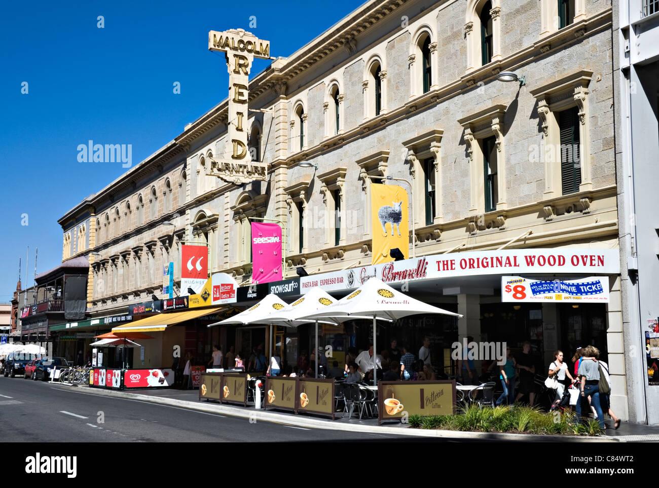 Cafe Rundle Street Adelaide