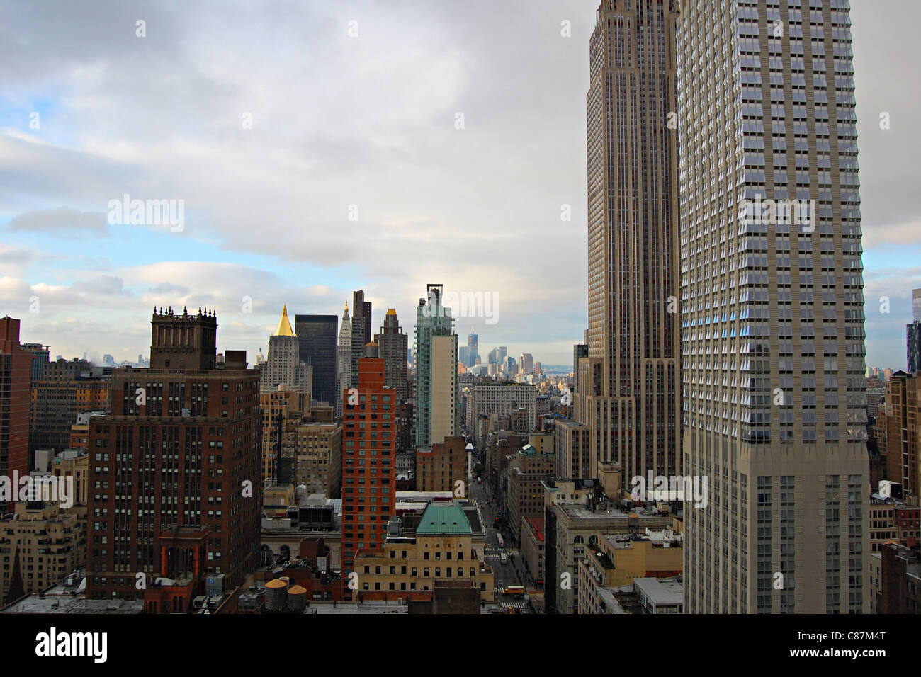 5th Avenue Apartment View, New York City