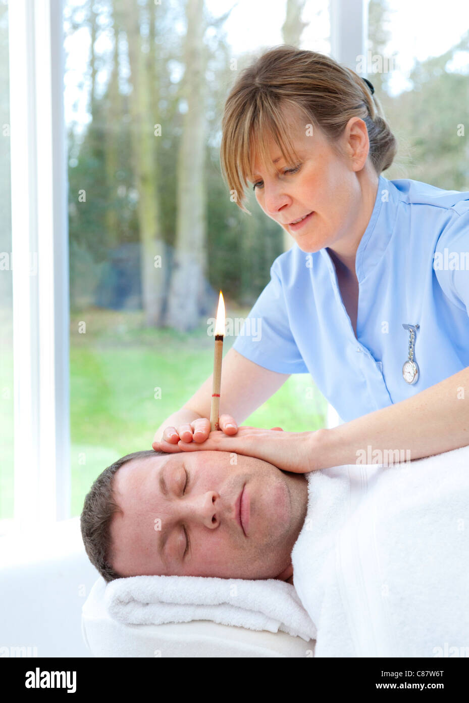 ear candling instructions video