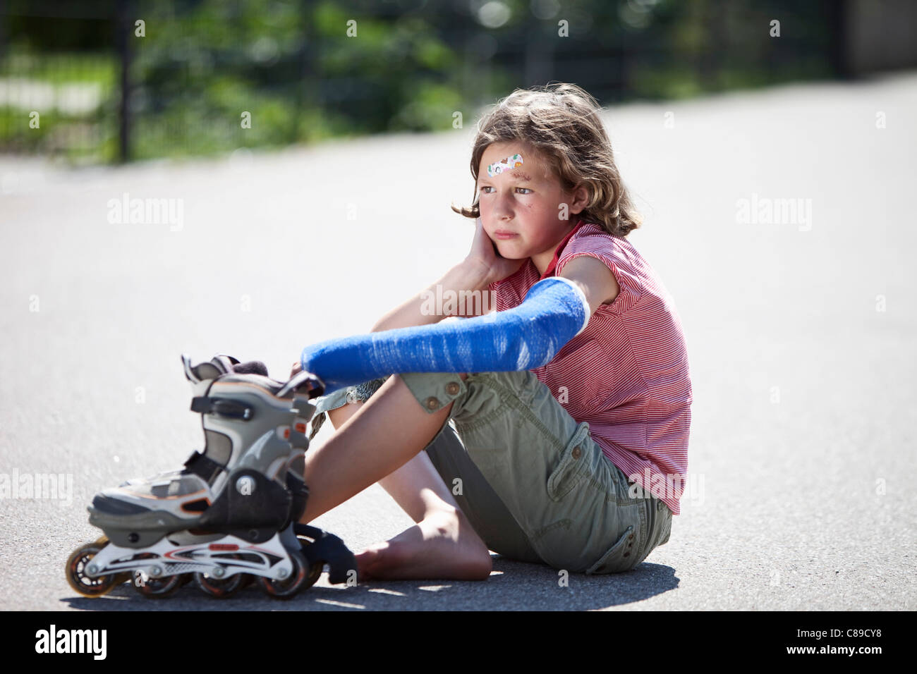 Roller skating rink accidents